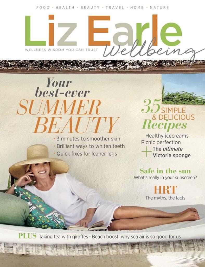 Liz Earle Wellbeing Summer 2018 cover