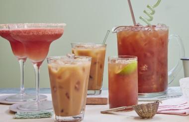 frozen watermelon margarita cocktail recipe - liz earle wellbeing