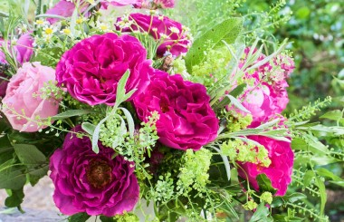 Wellbeing Bouquet with The Real Flower Company and Liz Earle