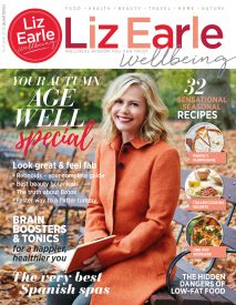 Liz Earle Wellbeing cover Autumn 2018