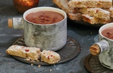 chilli hot chocolate recipe liz earle wellbeing