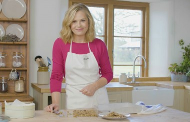 no bake flapjack recipe liz earle wellbeing