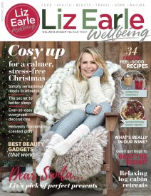 Liz Earle Wellbeing Winter 2018 cover