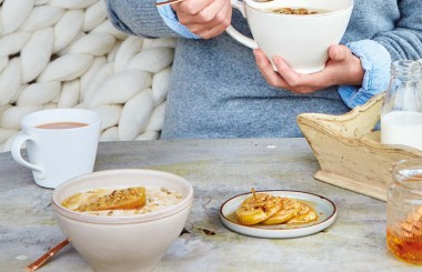perfect porridge recipe liz earle wellbeing