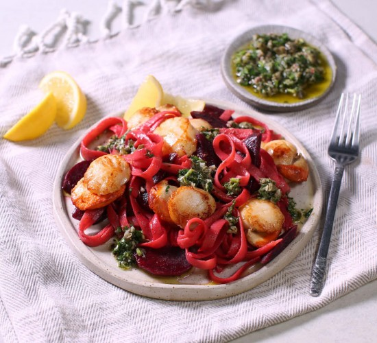 abel and cole spaghetti scallops liz earle wellbeing