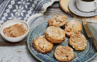 cinnamon scones liz earle wellbeing