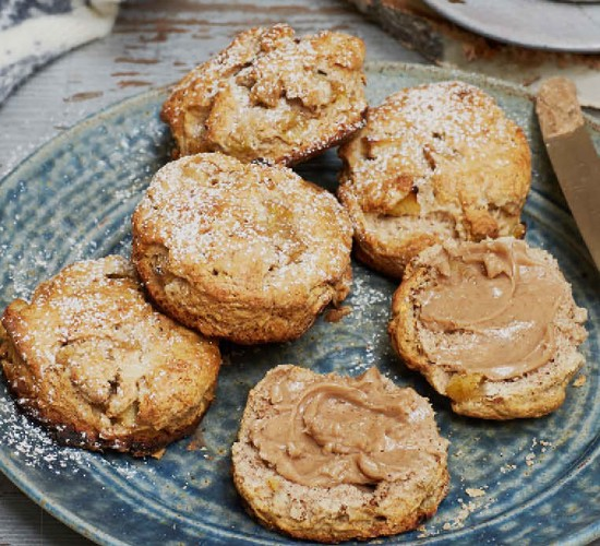 cinnamon scones liz earle wellbeing