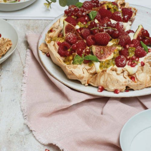 mixed berry pavlova winter liz earle wellbeing