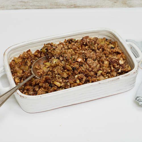 vegetarian stuffing recipe liz earle wellbeing