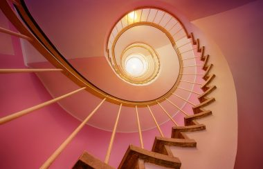spiral staircase liz earle wellbeing