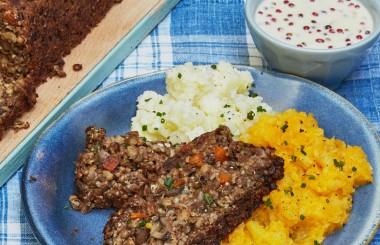 vegetarian haggis recipe liz earle wellbeing