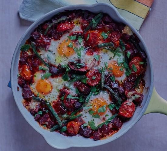 baked eggs header liz earle wellbeing