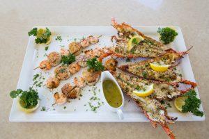 Long Bay Villa Seafood Platter