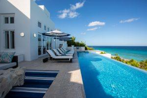 Long Bay Villa, Anguilla, sea terrace
