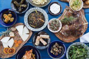 Cretan Feast Menu at Blue Palace