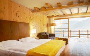 Dolomites, guest room