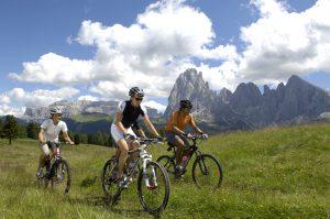 Dolomites, mountain biking