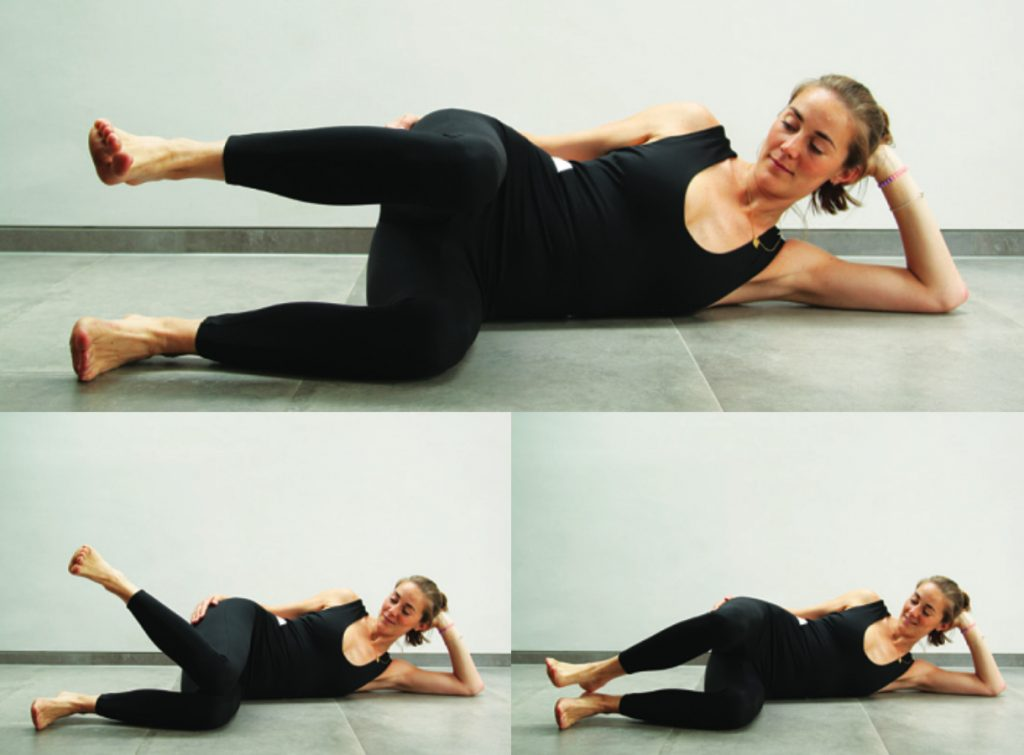 Glute Work pilates pose, Liz earle wellbeing