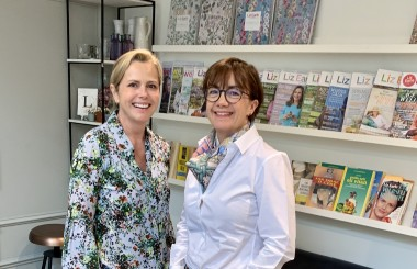 Liz Earle with Dr Justine Setchell, Liz Earle Wellbeing