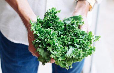 benefits of eating greens Handful of kale, greens, liz earle wellbeing
