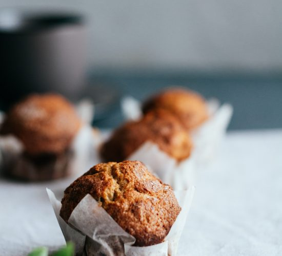 Banana muffin recipe with cinnamon