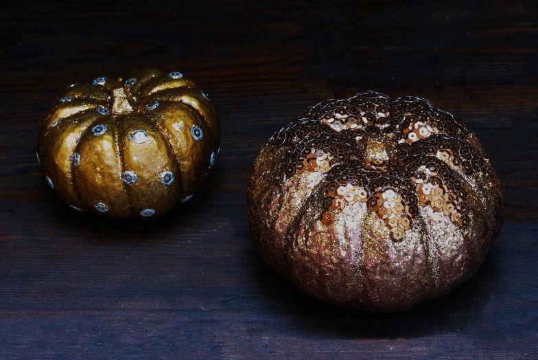 Halloween decorations blingy pumpkins