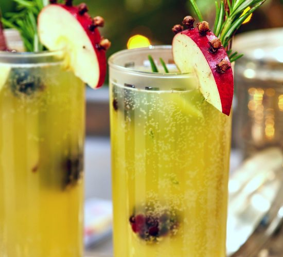 Winter Gin Fizz Cocktail - Liz Earle Wellbeing