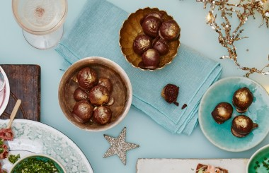 Chocolate oragne date balls Liz Earle Wellbeing