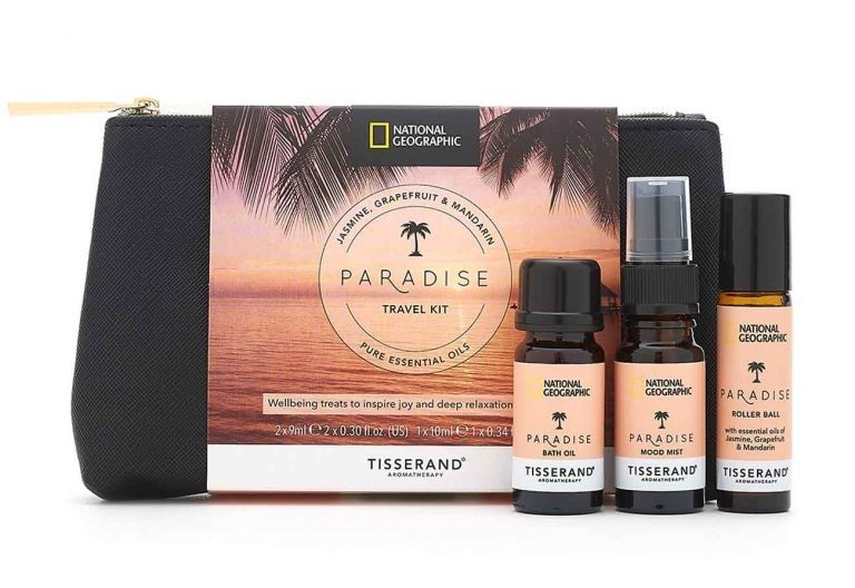 Tisserand National Geographic Travel Kit