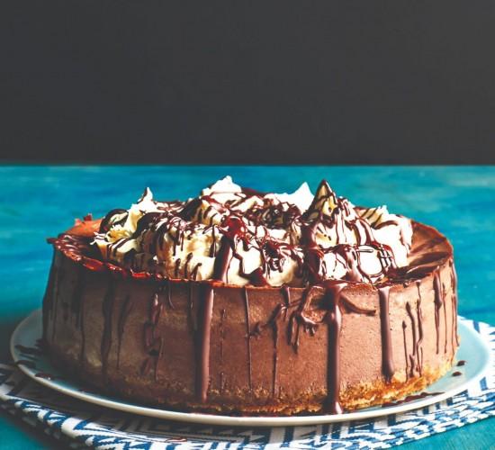 Keto chocolate cake recipe image