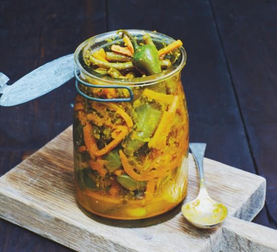 Liz Earle Wellbeing, Sri Lankan Pickle recipe