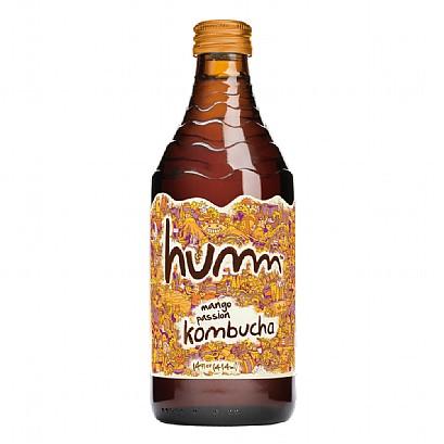 Humm kombucha bottle