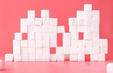 Cutting down on sugar