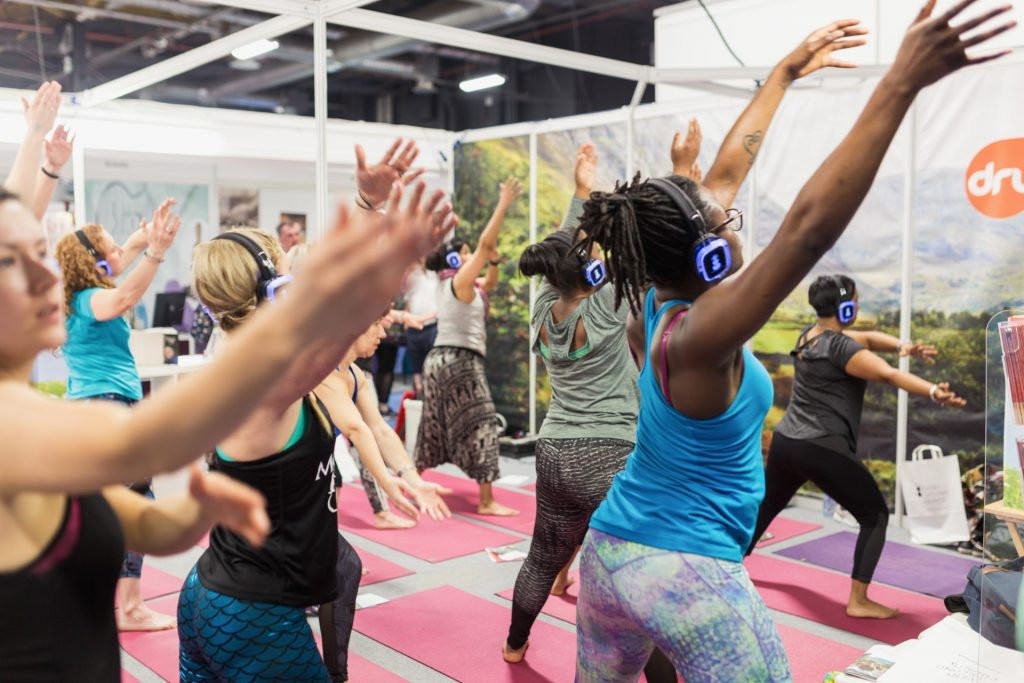 OM Yoga wellbeing events, Manchester