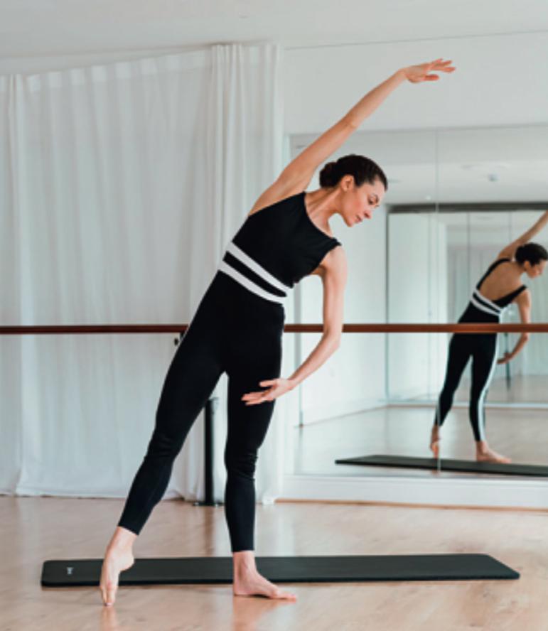 Ballet barre tendu