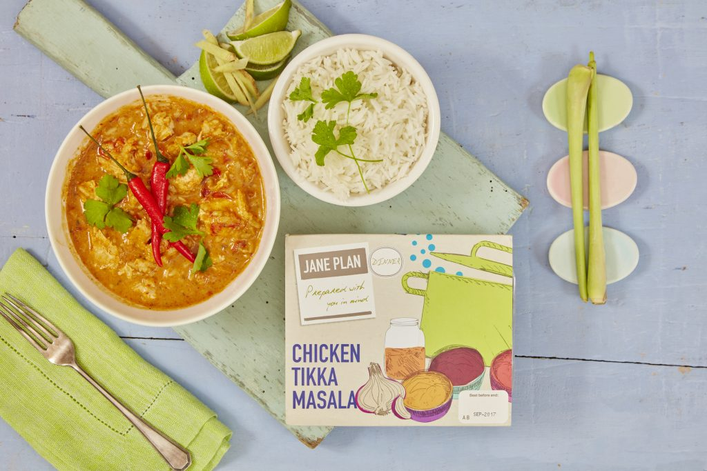 Jane Plan, Chicken Tikka Masala
