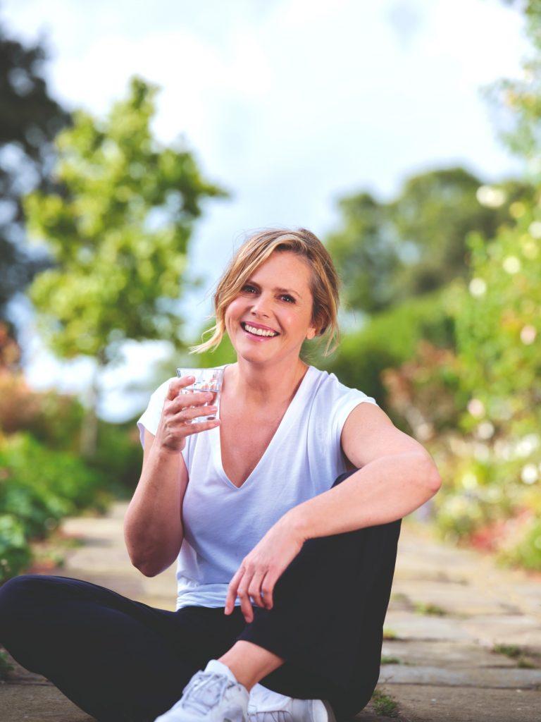 Liz Earle, happy healthy
