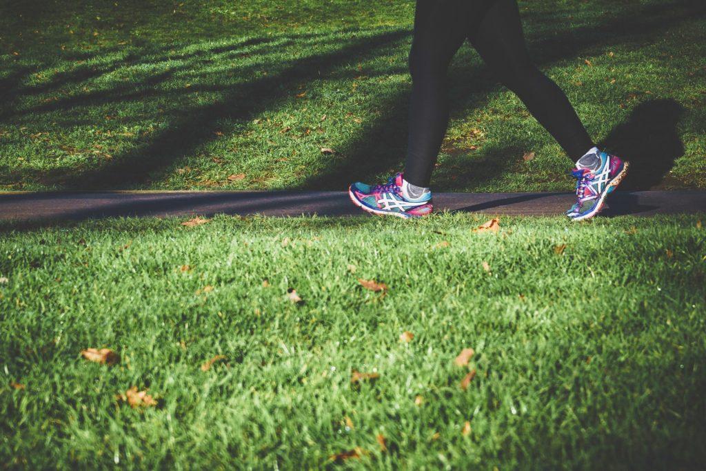 beginner's fitness, trainers running