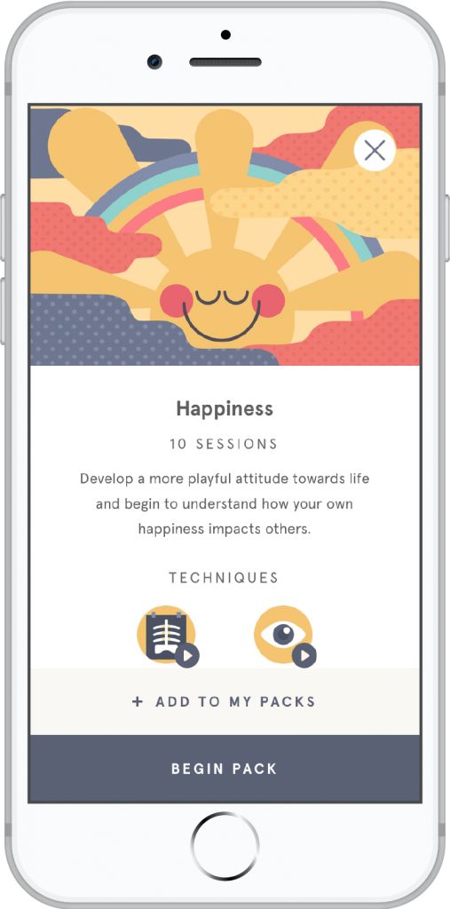 Headspace meditaion app