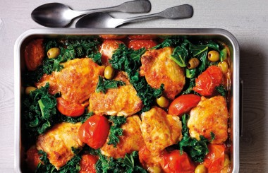 Chicken recipe with kale