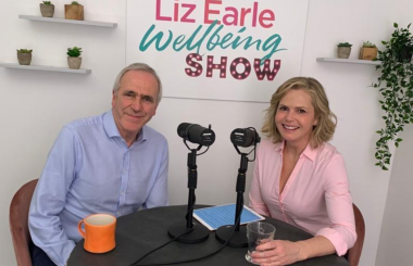 Patrick Holden and Liz Earle
