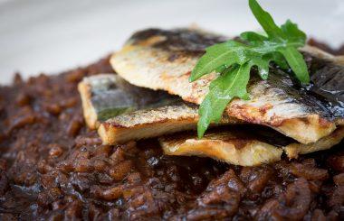Sardine garlic risotto recipe
