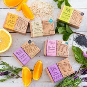Little Soap Company lavender and citrus bar