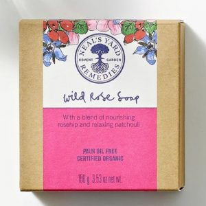 Wild Rose bar soap by Neal's Yard Remedies