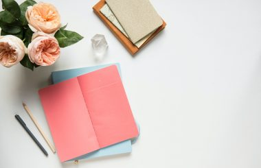 New Year resolutions note planner
