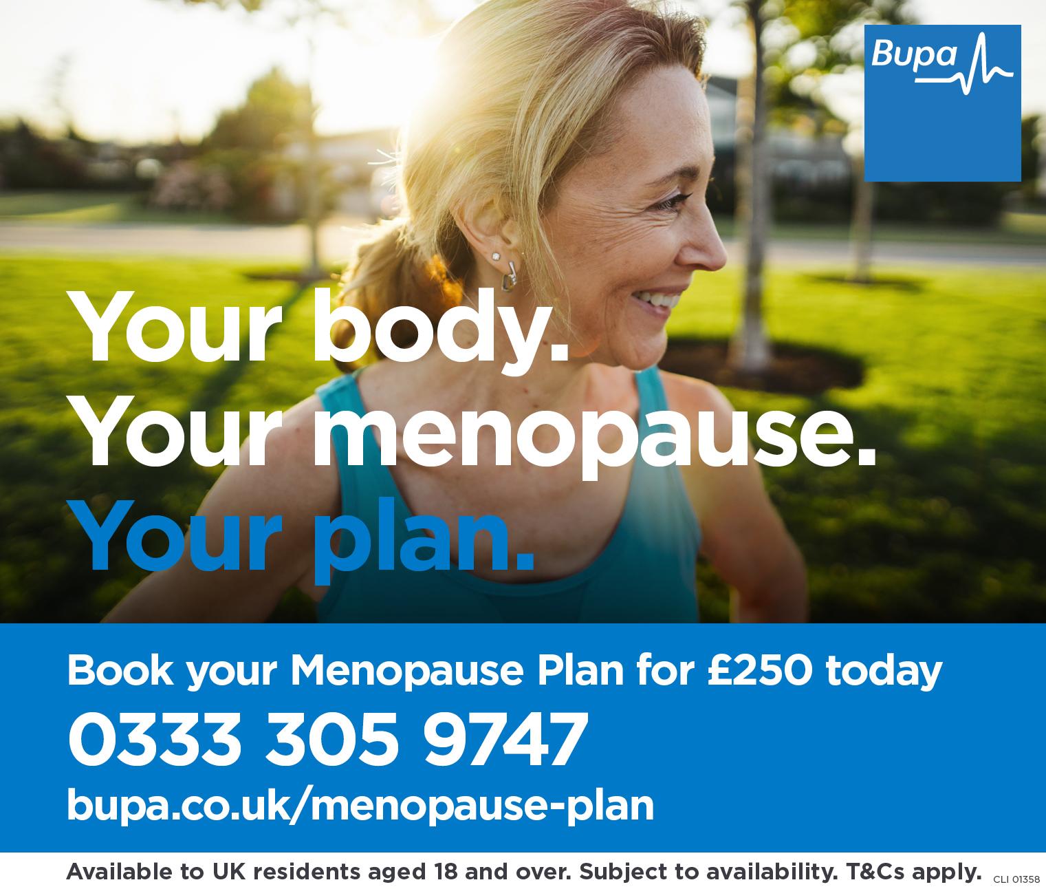Bupa Menopause Plan